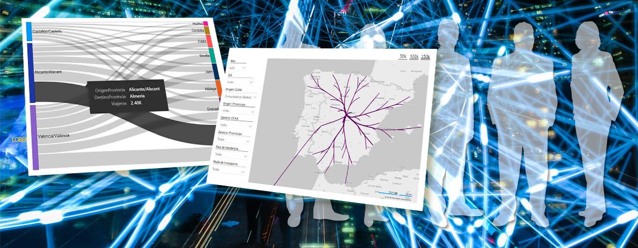 Imagen del Estudio Piloto de Movilidad con Big Data